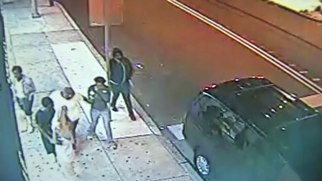 PHOTO: Teens caught on tape beating woman