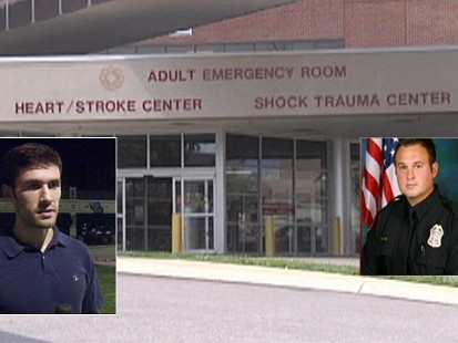 Video:Man arrested for rushing his sick wife to the hospital.