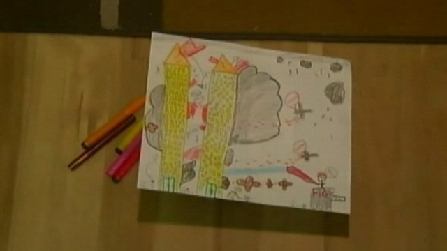 VIDEO: Fourth-grade students were asked to draw images depicting terrorist attacks.