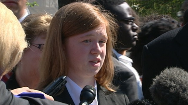 VIDEO: Abigail Fisher claims she was denied admission to the University of Texas because she is white.