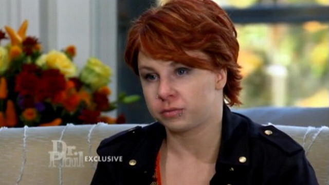 VIDEO: Michelle Knight tells Dr. Phil McGraw she was bound and hung on the wall by her captor.