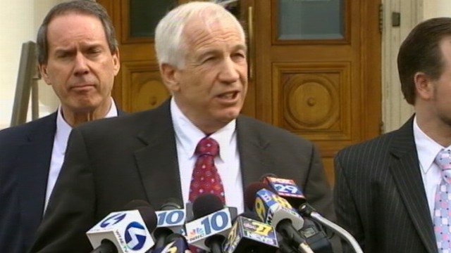VIDEO: Judge allows former PSU assistant football coach to have supervised visits.