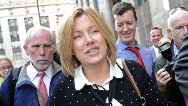 PHOTO: Anna Gristina exits Manhattan criminal court in New York, Sept. 25, 2012.