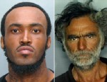 PHOTO: This combo made with undated photos made available by the Miami-Dade Police Dept. shows Rudy Eugene, 31, left, who police shot and killed as he ate the face of Ronald Poppo, 65, right, during a horrific attack in the shadow of the Miami Heralds he