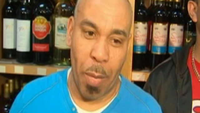 PHOTO:Pedro Quezada, 44, showed up Eagle Liquor in Passaic, N.J., March 25, 2013 and claimed to be the winner of the $338 million Powerball lottery jackpot.