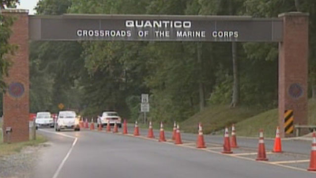 PHOTO: Undated image of Marine Corps Base Quantico in Quantico Va. Three Marines, including the shooter, were killed on March 22, 2013, according to base spokesman Lt. Agustin Solivan.