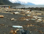 PHOTO: Debris is strewn across the shore of Montague Island near Seward, Alaska, in this June 6, 2012 photo provided by Chris Pallister.