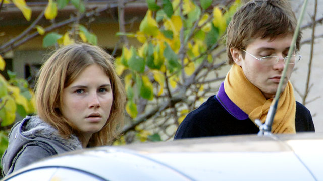 PHOTO: Amanda Knox and Raffaele Sollecito