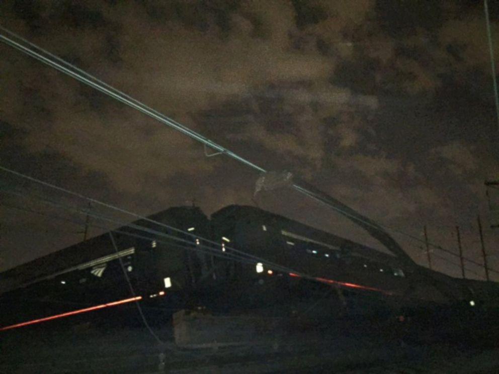 PHOTO: An Amtrak train crashed on May 12, 2015, near Philadelphia.