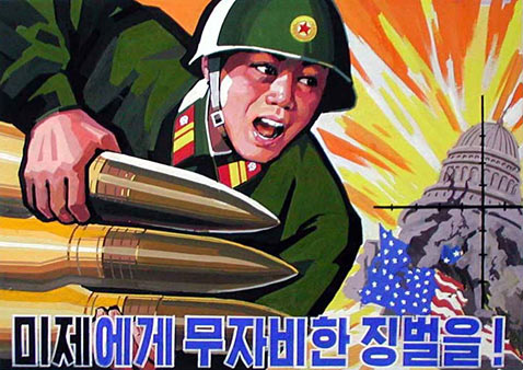 ap attack washington ll 111221 wblog North Korean Propaganda Posters