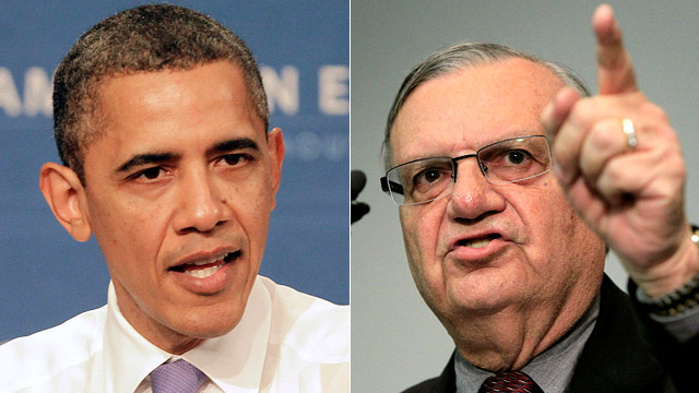 Joe Arpaio Obama
