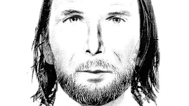 PHOTO:Sketch of man who may have been seen driving car registered to the Curriers