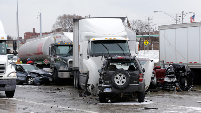 PHOTO: Multi-vehicle accident