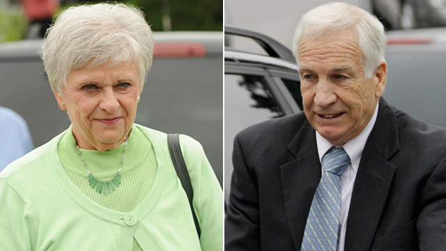 PHOTO: Dottie and Jerry Sandusky
