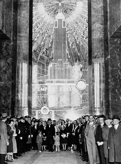 ap esb lobby 1931 ss jp 120308 vblog Empire State Building: The 8th World Wonder (Photos)