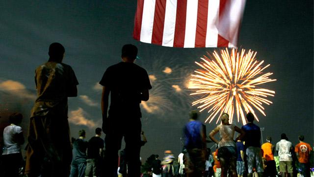 PHOTO: University of Florida fireworks
