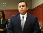 PHOTO: George Zimmerman stands in Seminole circuit court prior to the fourth day of his trial, in Sanford, Fla., June 13, 2013.