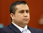 PHOTO: George Zimmerman listens as his defense counsel Mark OMara questions potential jurors during his trial in Seminole circuit court in Sanford, Fla.. June 20, 2013.