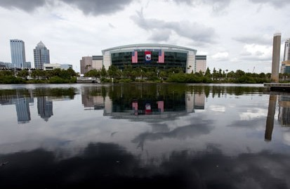 ap gop convention lt 120823 wblog Tampa Braces for High Winds; Fla. Governor Preps Response