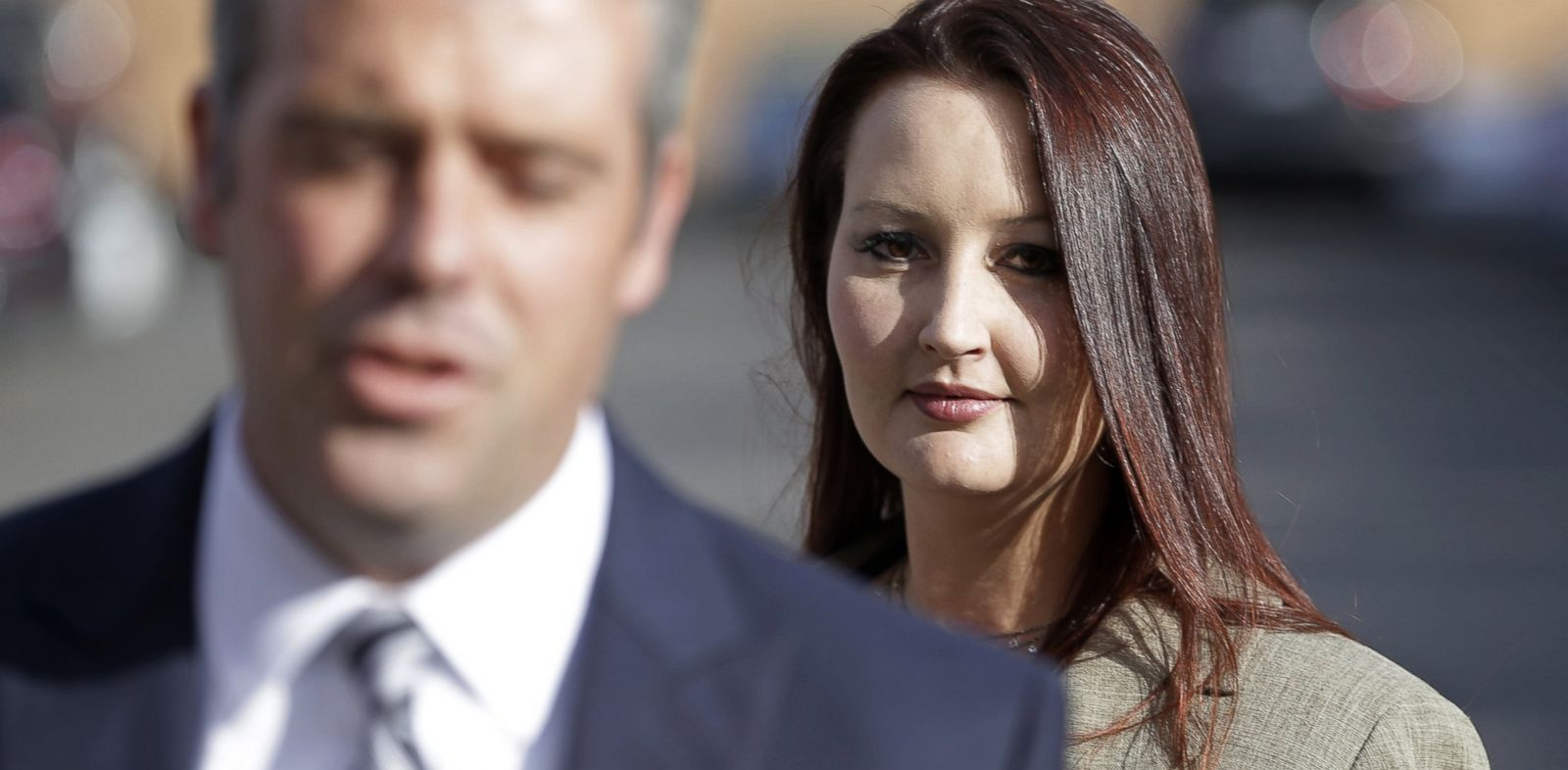 PHOTO: Gypsy Willis, the 37-year-old mistress of Martin MacNeill, arrives at court, Oct. 25, 2013, in Provo, Utah, to take a much-anticipated turn on the witness stand.