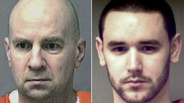 PHOTO: These undated inmate file photos released by the Connecticut Department of Correction show Steven Hayes, left, and Joshua Komisarjevsky.