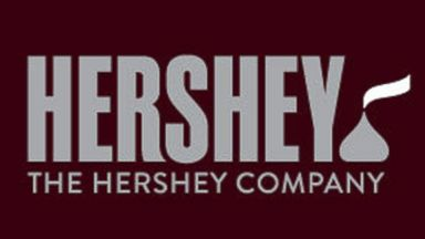 PHOTO: On Aug. 29, 2014, Hershey announced a new logo design which adds a Kisses chocolate at the end of the company?s name.