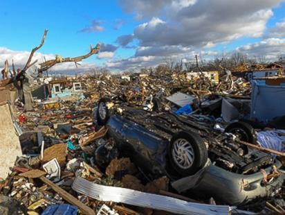 Tornadoes Trail: Houses Turned to Rubble, Lives Shattered
