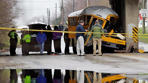 ap indianapolis school bus crash ll 120312 wblog School Bus Crashes Raise Concerns About Seat Belts and Safety
