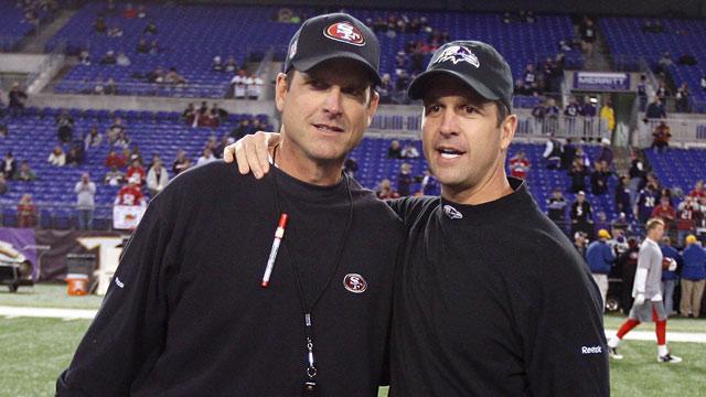 PHOTO: Jim and John Harbaugh