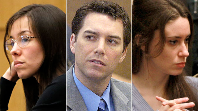 PHOTO: Jodi Arias, Scott Peterson and Casey Anthony