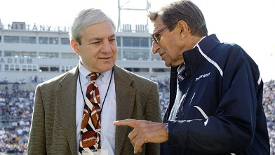 PHOTO: Graham Spanier and Joe Paterno