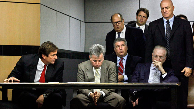 PHOTO: John Goodman and his defense team