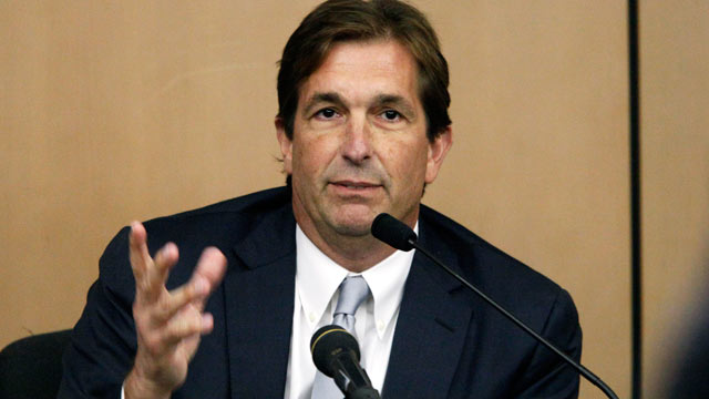 PHOTO: John Goodman testifies in his own defense at his DUI manslaughter trial on March, 21, 2012, in West Palm Beach, Fla.