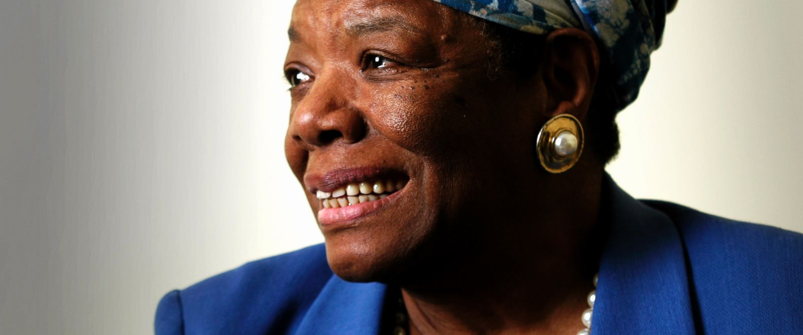 PHOTO: Dr. Maya Angelou poses for a photo in London on Sept. 20, 2005.