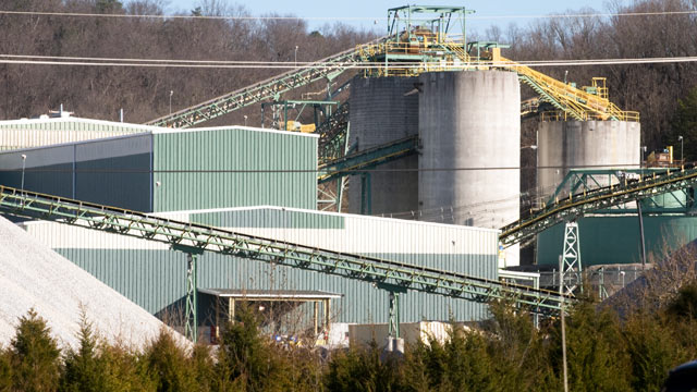 PHOTO: The Young mine is seen in New Market, Tenn., Dec. 28, 2011. A fire broke out inside the zinc mine, trapping three miners inside and injuring two others, authorities said.