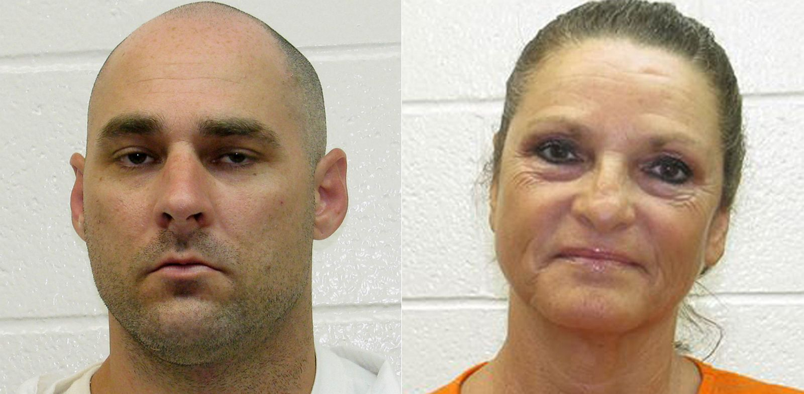 PHOTO: Derrick Estell, left, and his mother, Glenda Estell, right, are seen in undated mugshots