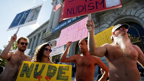 ap san francisco nudity ban jt 121118 wblog Public Nudity Ban Considered in San Francisco