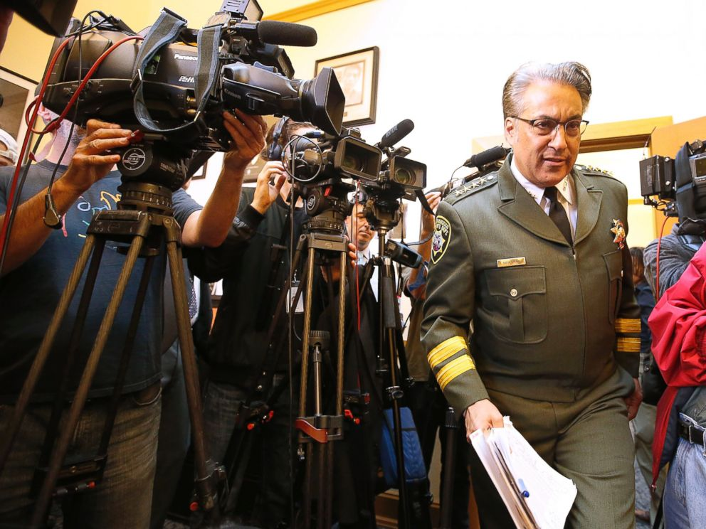 PHOTO: San Francisco Sheriff Ross Mirkarimi arrives to speak at news conference, July 10, 2015, in San Francisco.