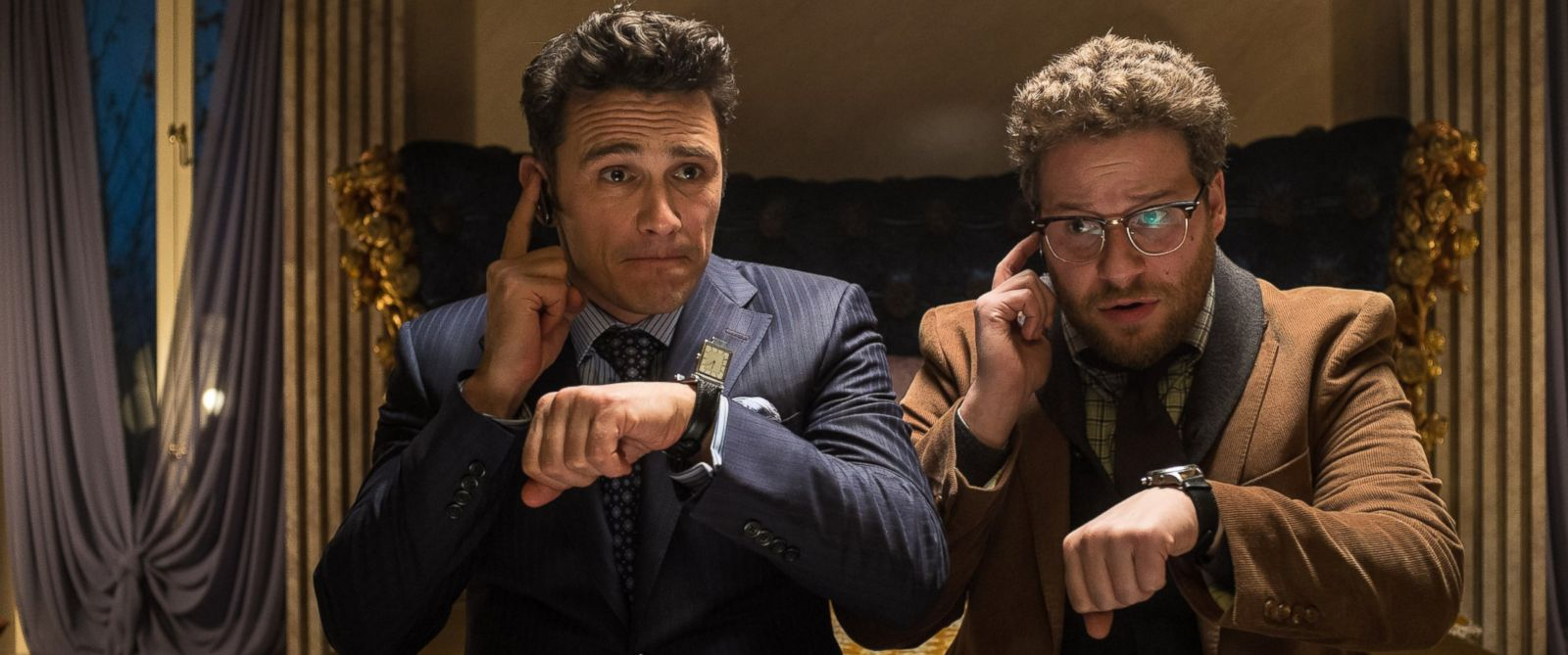 """PHOTO: James Franco and Seth Rogen in """"The Interview."""""""