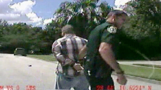 PHOTO:In this still image made from dash-cam video provided by the Lake Mary, Fla. Police,