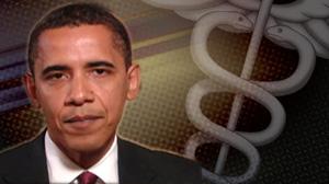 PHOTO: Obama on healthcare