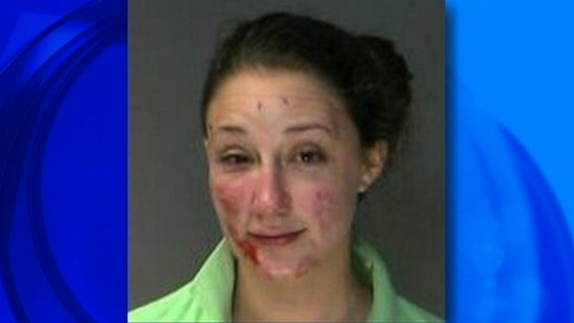 VIDEO: Sophia Anderson faces drunk driving charges following incident with her car.