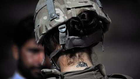 gty US army tattoo jt 111030 wblog Army Considers Lifting Ban on French Manicures, Earrings