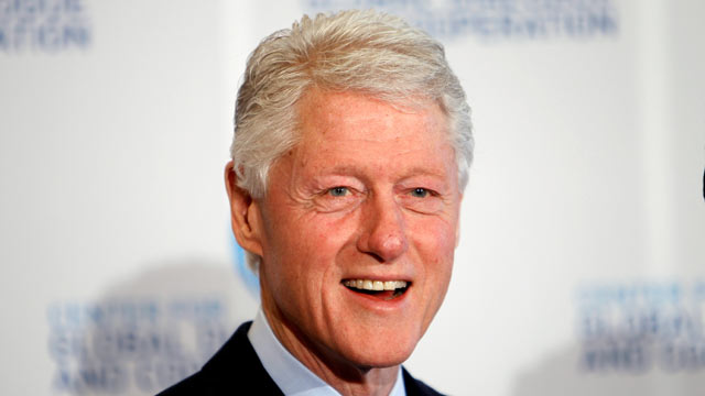 PHOTO: Bill Clinton attends the third day of the CGDC Annual Meeting, May 18, 2012 in Vienna, Austria.