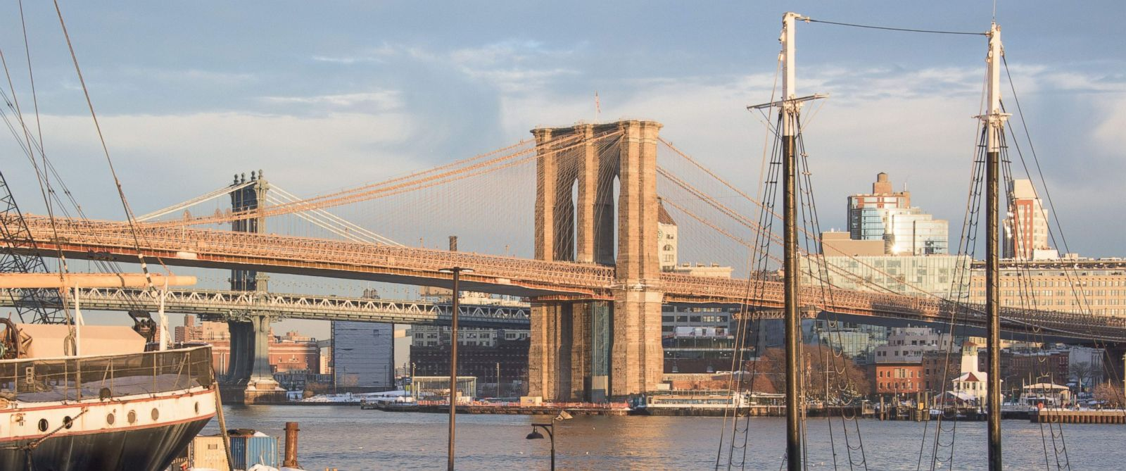 PHOTO: The Brooklyn Bridge is seen on Jan. 24, 2016 in New York.