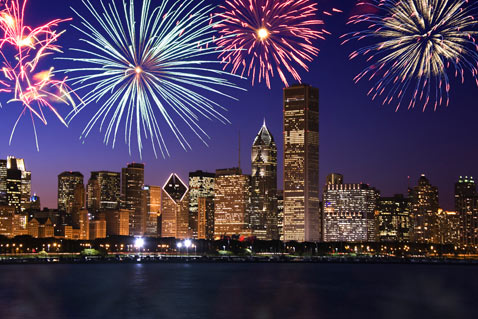 gty chicago fireworks thg 120628 wblog Top Ten Cities for Fireworks