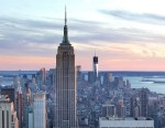 PHOTO: The Empire State Building and the New York skyline is shown.