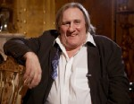 PHOTO: Actor Gerard Depardieu poses during a TV Interview, Nov. 25, 2012 in Moscow, Russia.