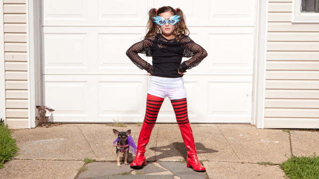 PHOTO: Get last-minute Halloween costume tips for your children and dogs!