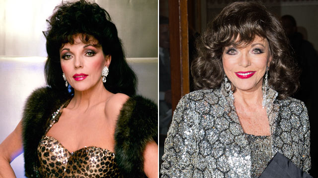 """PHOTO:Joan Collins in """"Dynasty."""""""